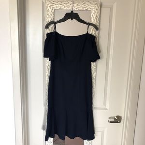 Navy off the shoulder Dolce Vita dress- Size 4